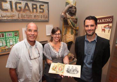 Florida Keys Man DiscoversRare Gato Cigar Progressive Proof Book, Now on Exhibit at Custom House Museum