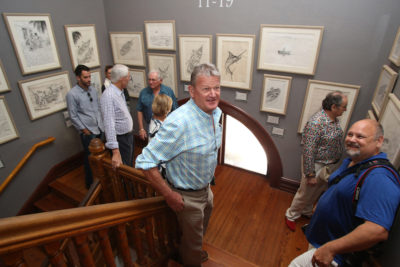 Marine Artist Guy Harvey's Artworks on Display at the Custom House Museum