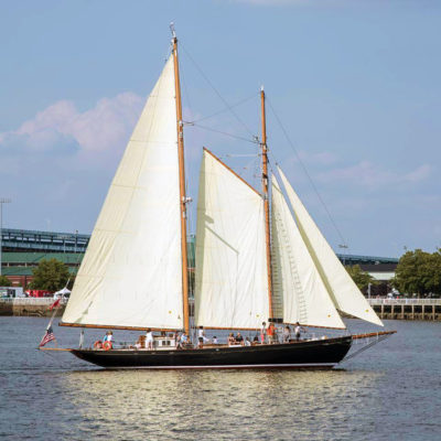 """Explore History While at Sea Aboard the """"When and If"""""""