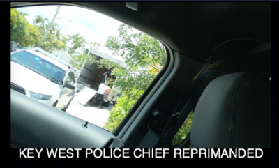 Key West Police Chief Suspended