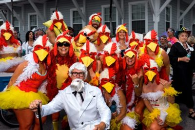 Fantasy Fest Masquerade Marchers to Roam Key West's Old Town Oct. 27
