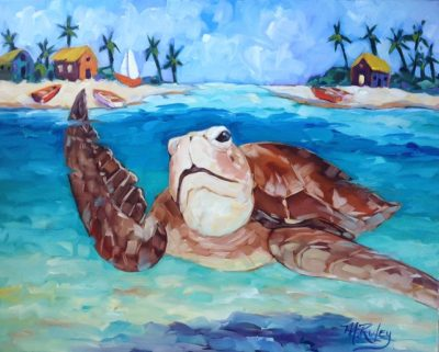 """""""Tropical Summer"""" Paintings by Maggie Ruley"""