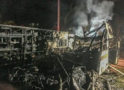 Monroe County Fire Rescue Responds to RV Fire on Summerland Key