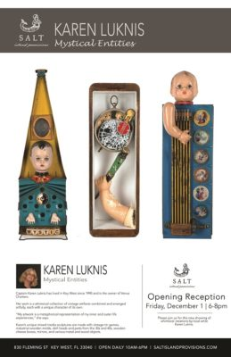 "SALT Gallery Presents Karen Luknis'""Mystical Entities"": Opening ReceptionDec. 1"