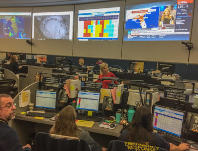 Monroe County EM Director and Assistant County Attorney Support State During Hurricane Michael
