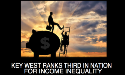 Key West Ranks Third in the Nation for Income Inequality