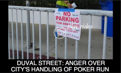 Duval Street: Anger Over City's Handling of Poker Run