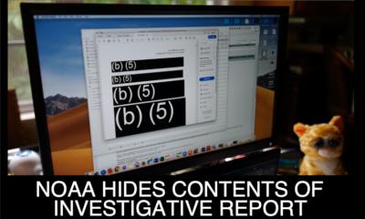 NOAA Hides Contents of Investigative Report