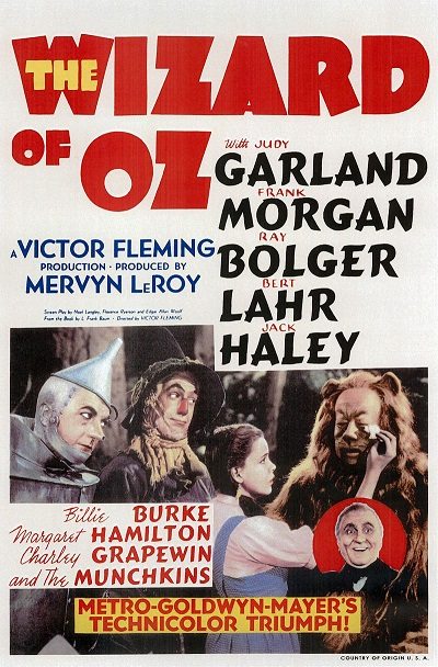 None of us, metaphorically speaking, are in Kansas anymore. (WOO poster, Public Domain)