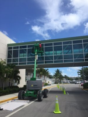Key West Airport Installing Safety Tinting on Glass Bridges to Protect Birds