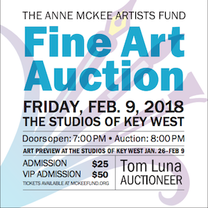 Tickets Available for 2018 Anne McKee Fine Art Auction