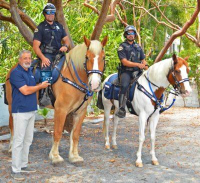 Horse Donated to KWPD Mounted Unit