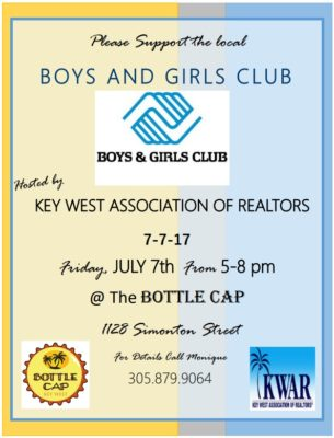 Key West Association of Realtors Fundraiser for the Boys and Girls Club