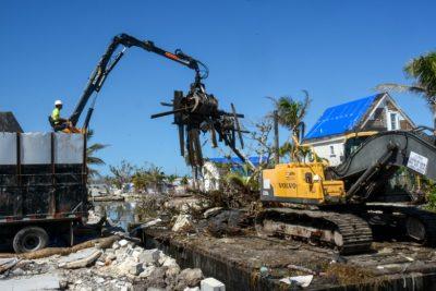 Hurricane Irma Marine Debris Cleanup Update in Unincorporated Monroe County