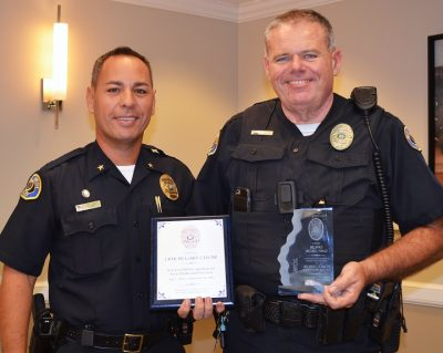 KWPD Recognizes Dedication and Professionalism
