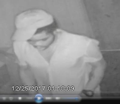 DetectiveAsks for Help Identifying Burglary Suspect