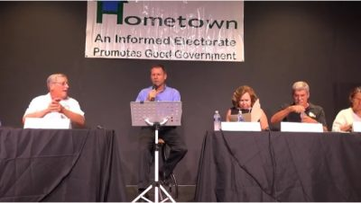 Hometowns! First Primary Q. and A. Forum Event at TSKW