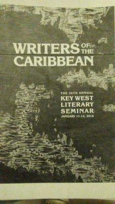 """Key West's Literary Seminar: """"Each day my mind expanded into the possibilities of what I could become if I continued to practice my craft."""""""