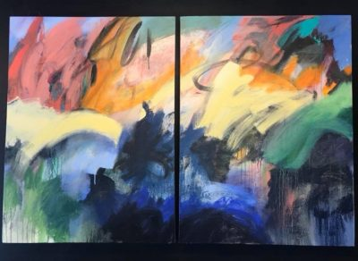 Paintings by Jill Caldwell at Salt Island Provisions Through January 31