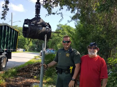 Deputy Cleans up on Stock Island
