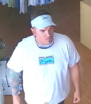 Help Detectives Identify Man Wanted for Questioning in Alleged Sunglasses Theft