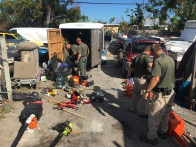Detectives Work to Identify Recovered Property