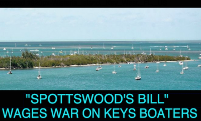 """""""Spottswood's Bill"""" Wages War on Keys Boaters"""