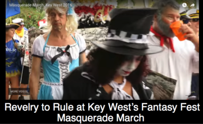 Revelry to Rule at Key West's Fantasy Fest Masquerade March