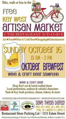 "Key West Artisan Market ""Art in Key West"" Edition This Sunday"