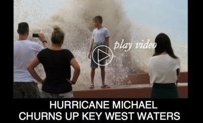 Hurricane Michael Churns Up Key West Waters...