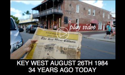 Key West: August 26, 1984... 34 Years Ago Today