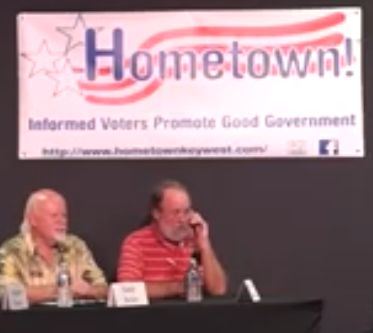 Key West Mayoral Candidate Gets Phone Call From God