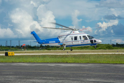 Trauma Star's Two Helicopters Transport Five People in One Shift Sunday