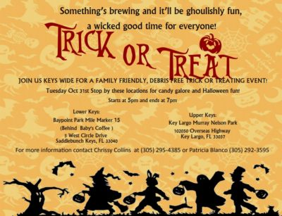 """Monroe County to Host Two """"Debris Free"""" Trick or Treat Events on Halloween"""