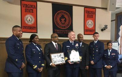 U.S. Coast Guard Signs Memorandum of Agreement with Virginia State University as Part of Minority-Serving Institutions Partnership Program