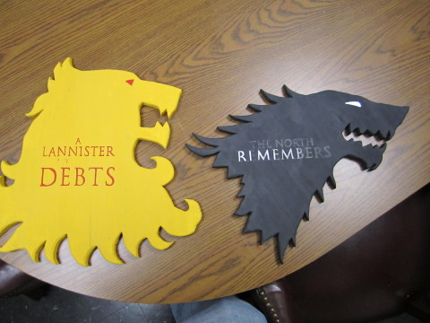 game of thrones art project