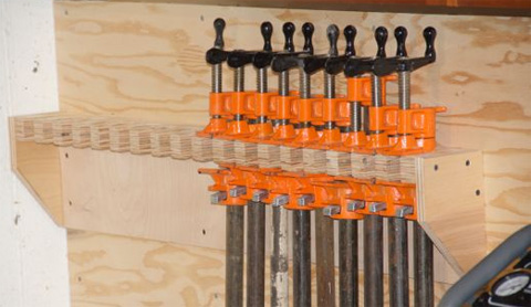 Clamp Storage