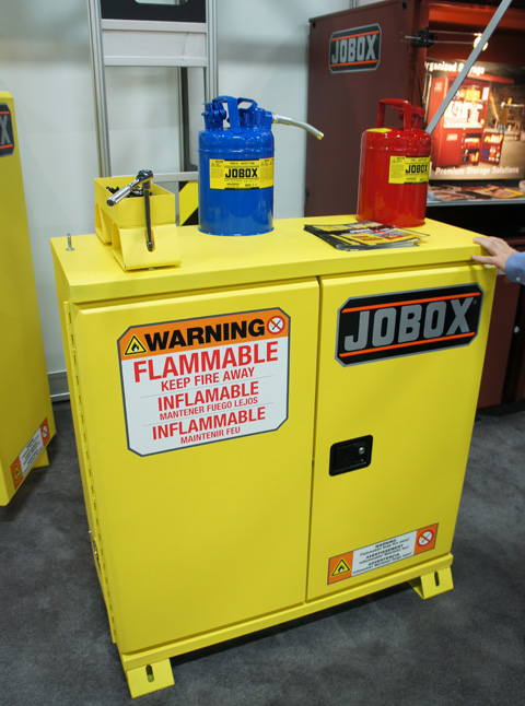 Jobox Safety Cabinet