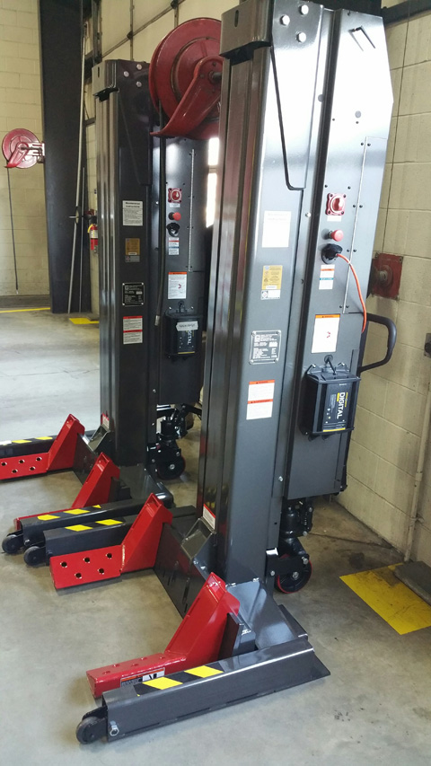 WPLS-185 Gray Lifting Systems