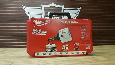 Milwaukee Hole saws Kits