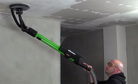 Dustless Drywall Sanding