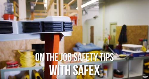 Safex Ladder Safety Tips