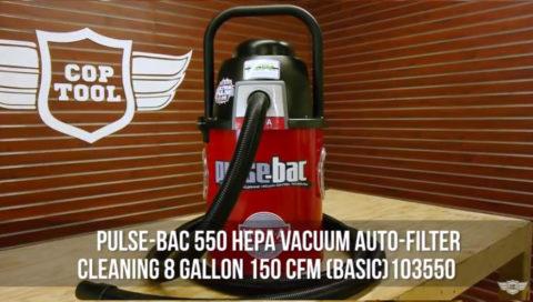 550 HEPA Vacuum