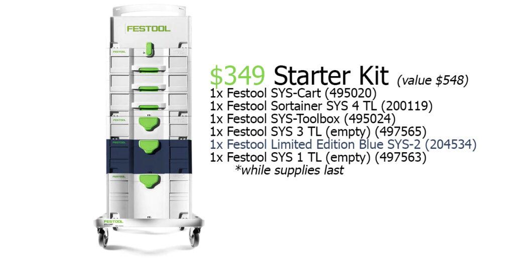 Festool Systainer Starter Kit
