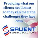 Salient Federal Solutions TILE AD