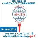 AFCEA Golf TILE AD