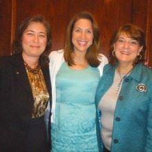 Kathy Jacqui (CGI), Eileen Cassidy Rivera (Cassidy Rivera Communications) and Linda Odorisio (CGI)