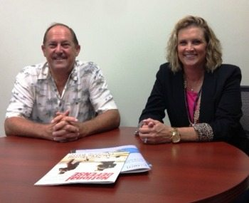 Randy Fuerst and Barbie Sandy, Oceus Networks