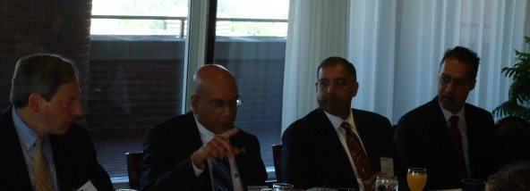 Mark Cohn (Unisys), Kshemendera Paul (ODNI), Sumeet Shrivastava (ARRAY), JD Kathuria (WashingtonExec)