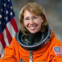 Dr. Sandy Magnus, former NASA astronaut, STEM Symposium speaker